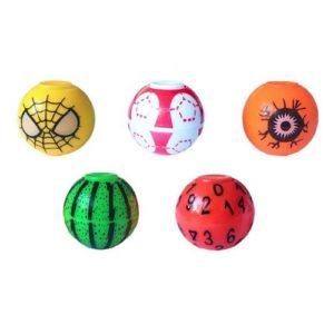 Мяч-спиннер мини игрушка Цветные