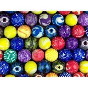 Мячи-прыгуны 25 мм Цветные зрачки